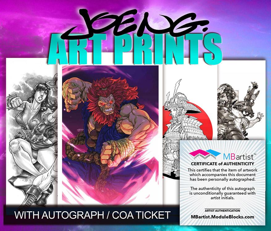 Joe Ng: Art Prints