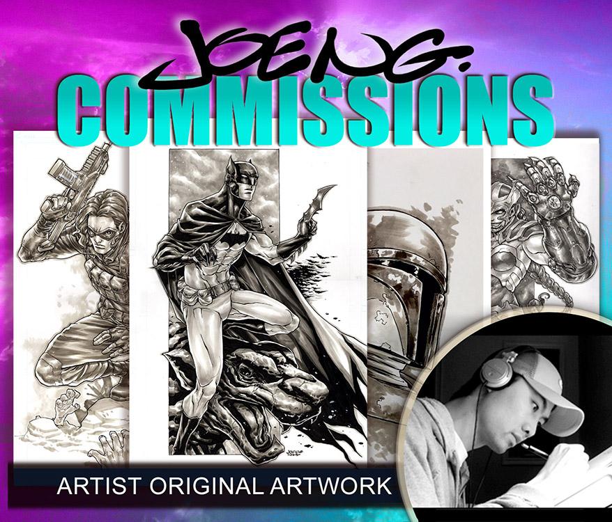 Joe Ng: Commissions