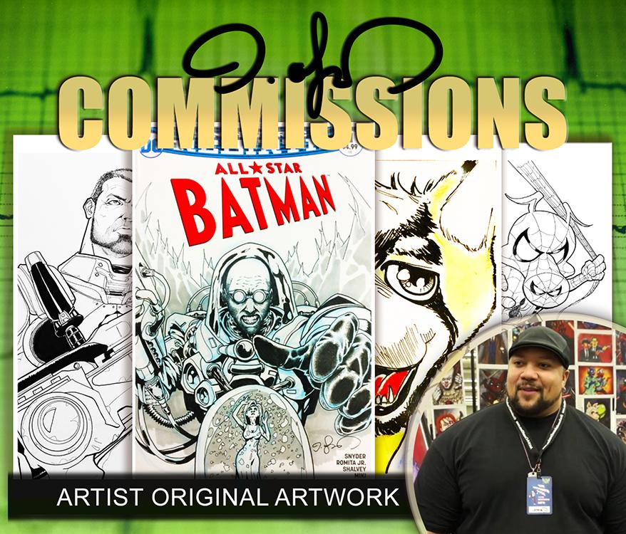 Jaime Coker: Commissions