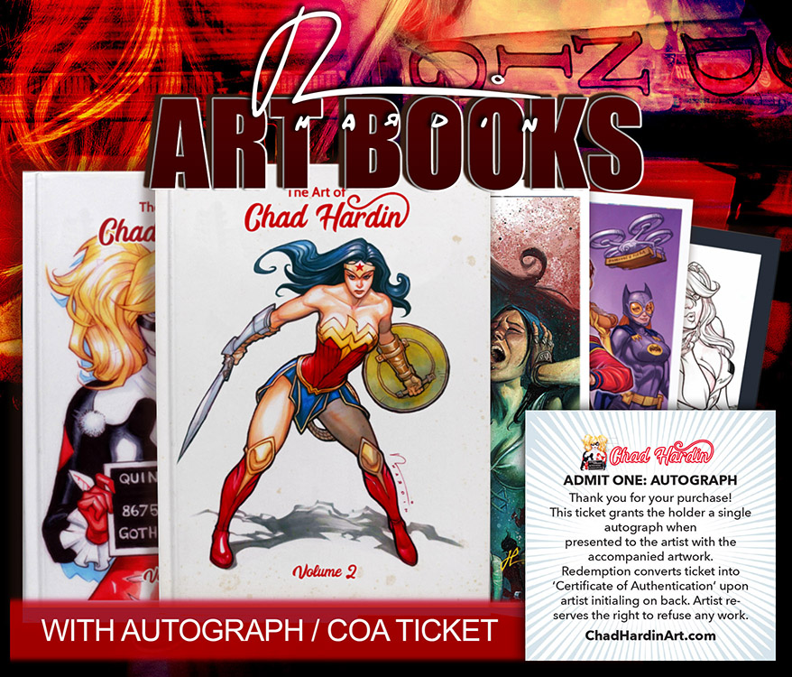 Chad Hardin: Art Books