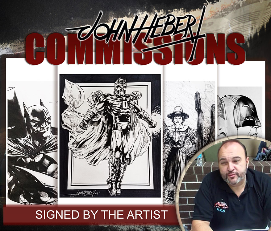John Hebert: Commissions