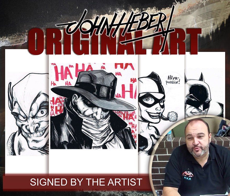 John Hebert: Original Art